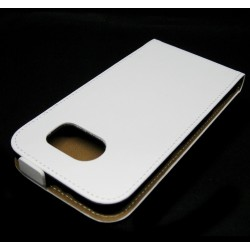 Funda Piel Premium Ultra-Slim Samsung Galaxy S6 G920 Blanca