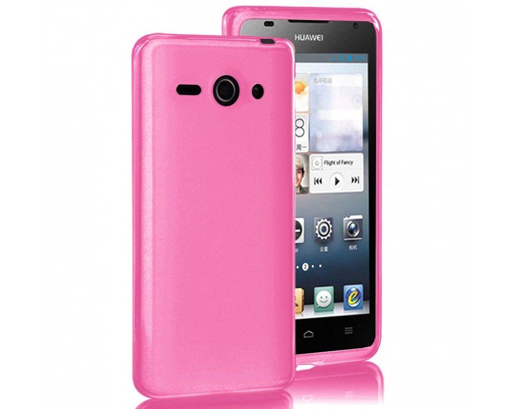 Funda Gel Tpu Lisa Huawei Ascend Y530 Color Rosa