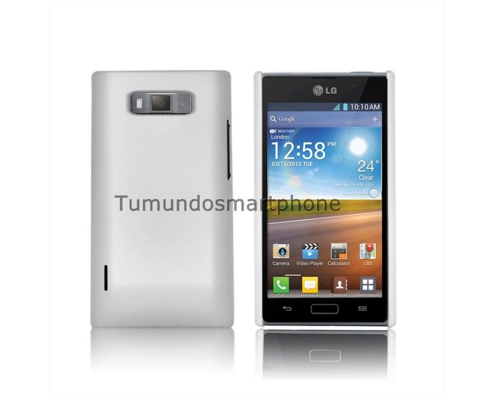 Carcasa Dura Lg Optimus L7 P700 / P705 Color Blanca