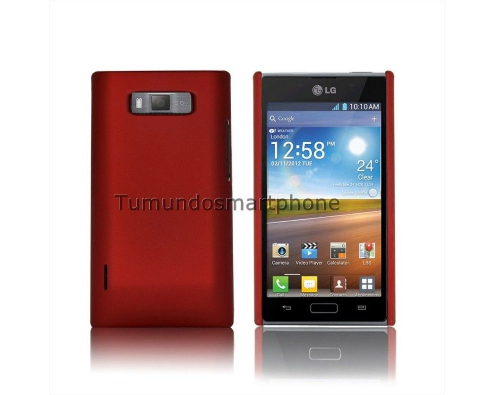 Carcasa Dura Lg Optimus L7 P700 / P705 Color Roja