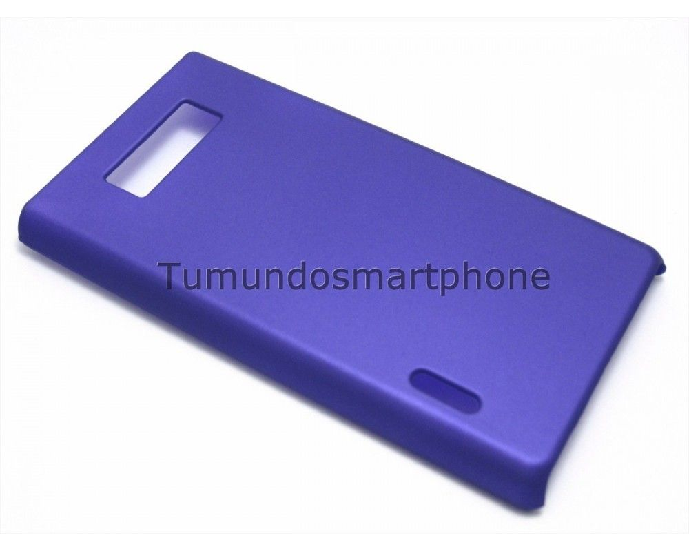 Carcasa Dura Lg Optimus L7 P700 / P705 Color Morada