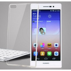 Funda Gel Tpu Fina Ultra-Thin 0,3mm Transparente para Huawei P8
