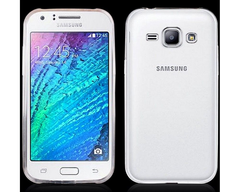 Funda Gel Tpu Fina Ultra-Thin 0,3mm Transparente para Samsung Galaxy J1 J100H