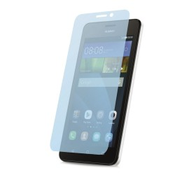 3x Protector Pantalla Ultra-Transparente para Huawei Ascend Y635