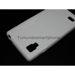 Funda Gel Tpu Lg Optimus L9 P760 S Line Color Blanca