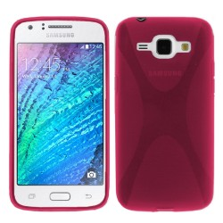Funda Gel Tpu Samsung Galaxy J1 J100H X-Line Color Rosa