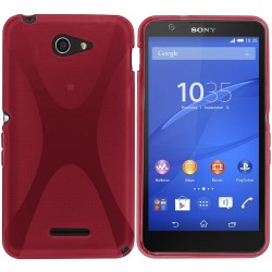 Funda Gel Tpu Sony Xperia E4 X-Line Color Rosa
