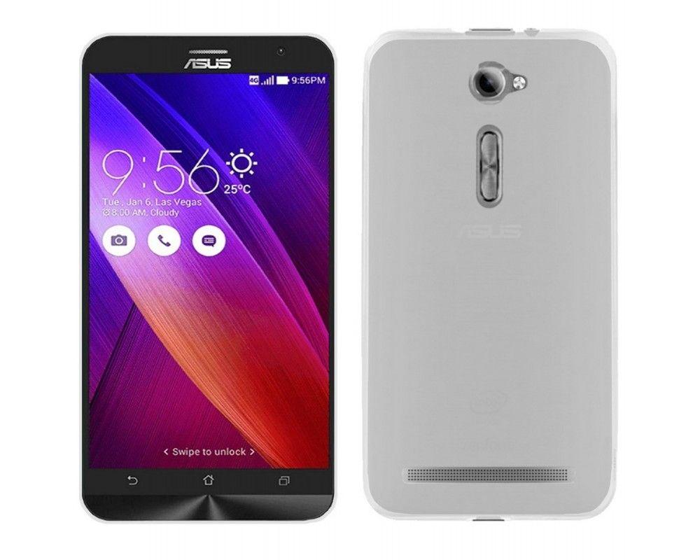 "Funda Gel Tpu Asus Zenfone 2 5"" Ze500Cl Color Transparente"