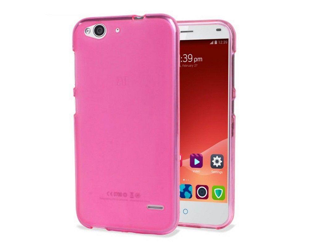 Funda Gel Tpu Zte Blade S6 Color Rosa