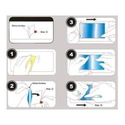 3x Protector Pantalla Mate Antihuellas (Anti-Glare) para Zte Blade S6