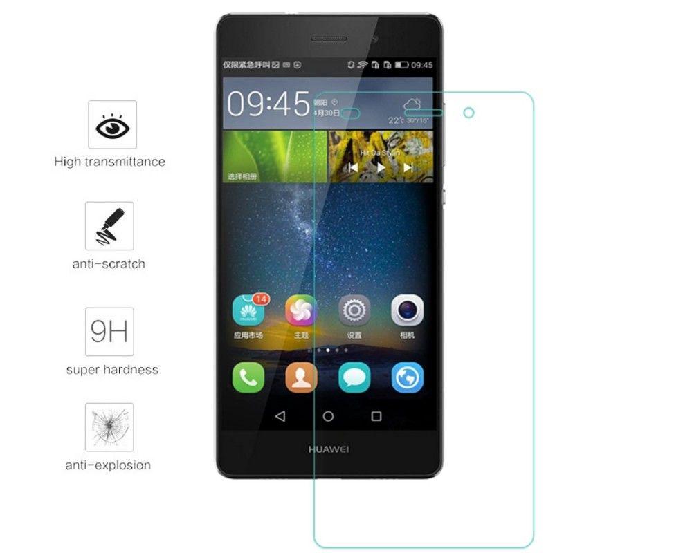 8907f2b5bf3 Protector Pantalla Cristal Templado para Huawei P8 Lite Vidrio ...