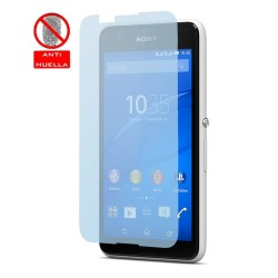 3x Protector Pantalla Mate Antihuellas (Anti-Glare) para Sony Xperia E4G