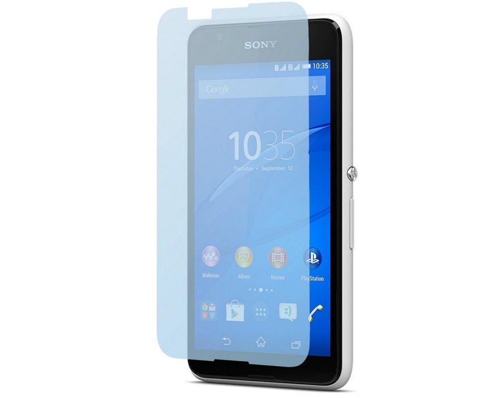 3x Protector Pantalla Ultra-Transparente para Sony Xperia E4G