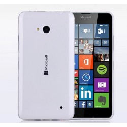 Funda Gel Tpu Fina Ultra-Thin 0,3mm Transparente para Microsoft Lumia 640
