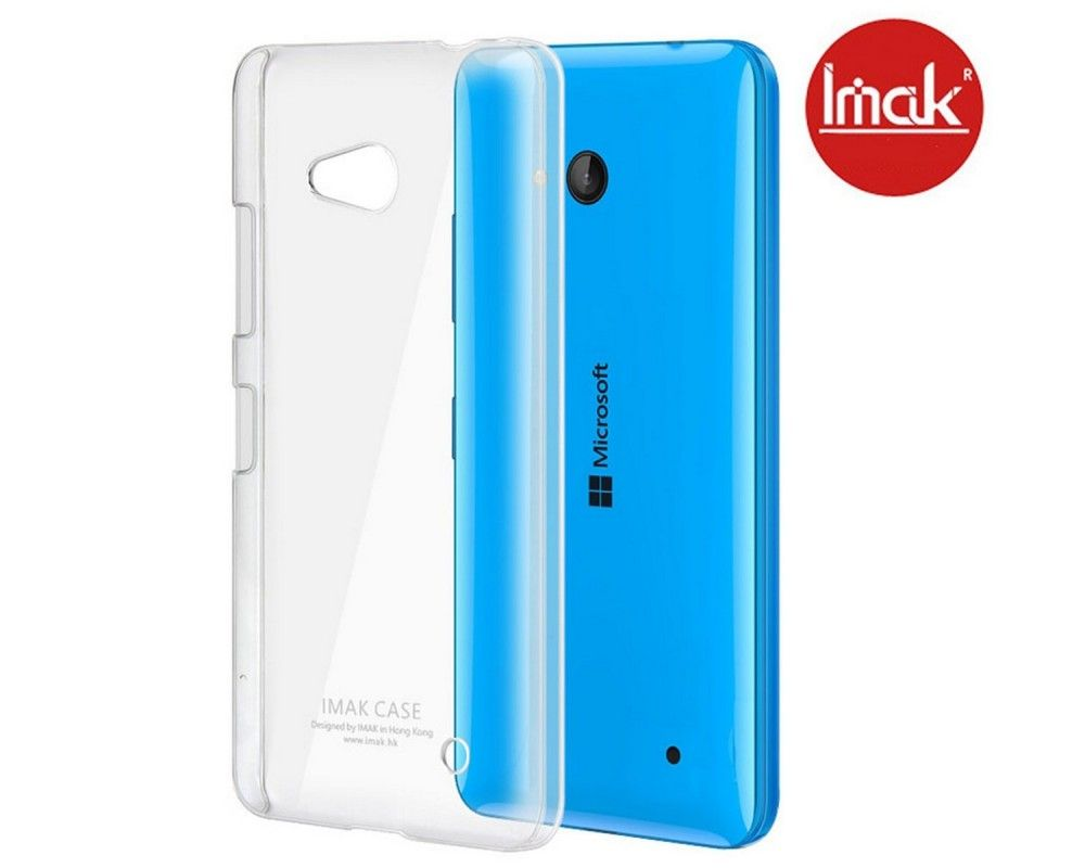 Carcasa Funda Dura Transparente Imak para Microsoft Lumia 640