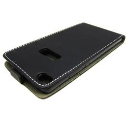 Funda Piel Premium Ultra-Slim Huawei P8 Negra