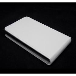 Funda Piel Premium Ultra-Slim Lg Joy H220 Blanca