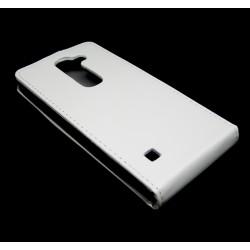 Funda Piel Premium Ultra-Slim Lg Spirit Blanca