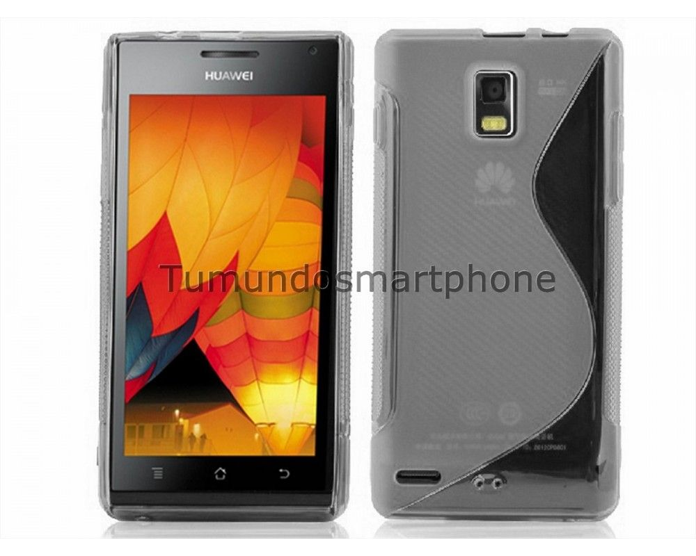 Funda Gel Tpu Huawei Ascend P1 U9200 S Line Color Transparente