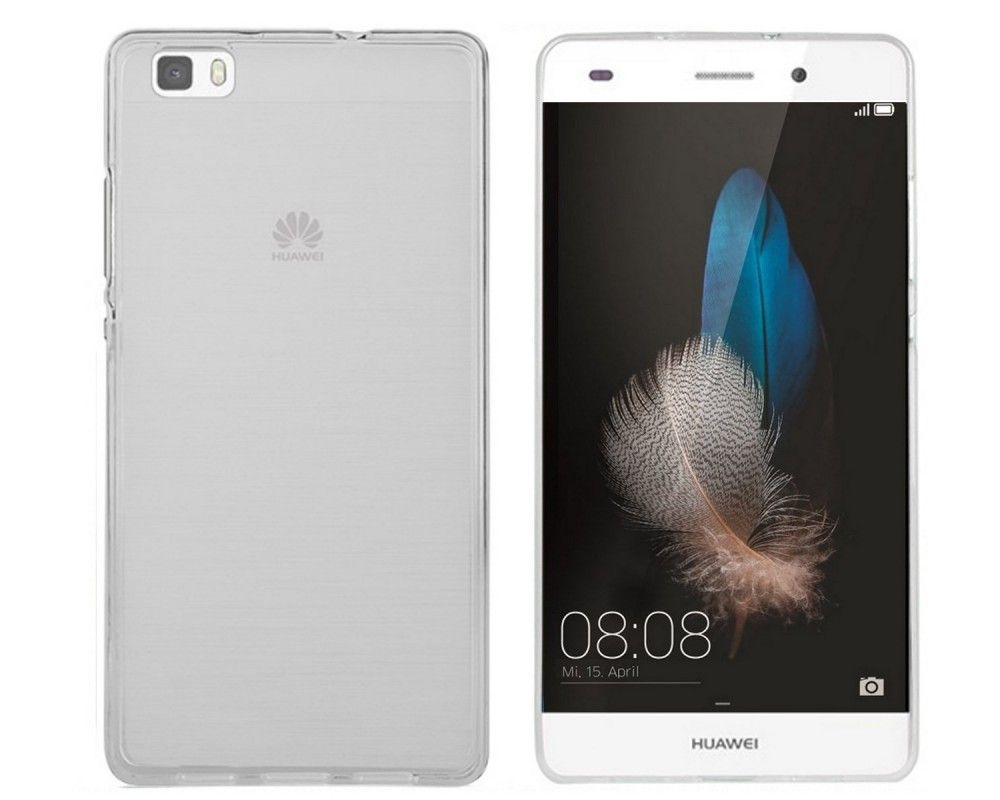 Funda Gel Tpu Huawei P8 Lite Color Transparente