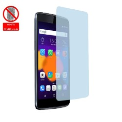 3x Protector Pantalla Mate Antihuellas (Anti-Glare) para Alcatel One Touch Idol 3 4.7""