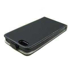 Funda Piel Premium Ultra-Slim  Huawei Honor 4X Negra
