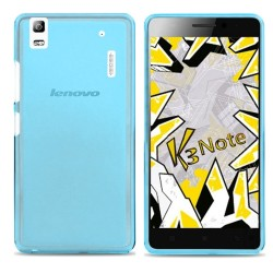 Funda Gel Tpu Lenovo K3 Note Color Azul