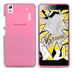 Funda Gel Tpu Lenovo K3 Note Color Rosa