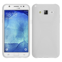 Funda Gel Tpu para Samsung Galaxy J5 X-Line Color Blanca