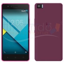 Funda Gel Tpu Bq Aquaris M4.5 / A4.5 Color Rosa