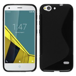 Funda Gel Tpu para Vodafone Smart Ultra 6 S Line Color Negra