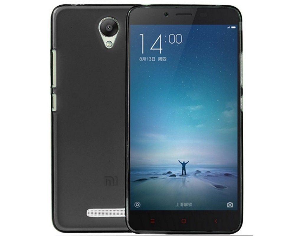 Funda Gel Tpu Xiaomi Redmi Note 2 / Note 2 Prime Color Negra
