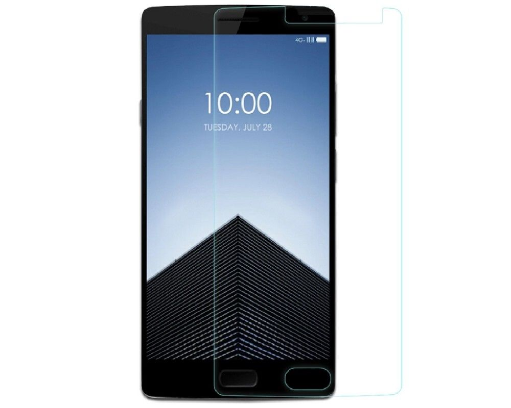 3x Protector Pantalla Ultra-Transparente para Oneplus 2 Two 5,5""
