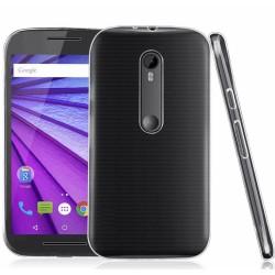 "Funda Gel Tpu Fina Ultra-Thin 0,3mm Transparente para Motorola Moto G 3 5"" (3Ra Gen.) 2015"