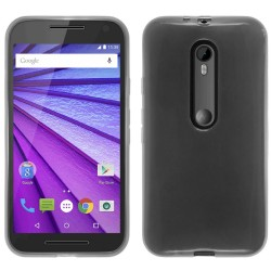 "Funda Gel Tpu Motorola Moto G 3 5"" (3Ra Gen.) 2015 Color Transparente"