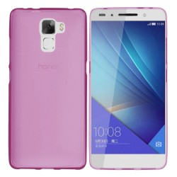 Funda Gel Tpu Huawei Honor 7 Color Rosa