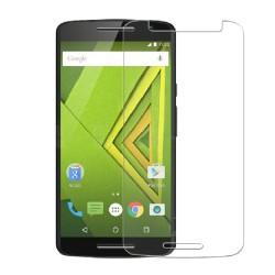 3x Protector Pantalla Ultra-Transparente para Motorola Moto X Play