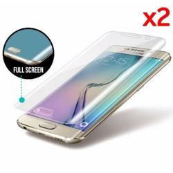 2x Protector Pantalla Frontal Completo para Samsung Galaxy S6 Edge + Plus