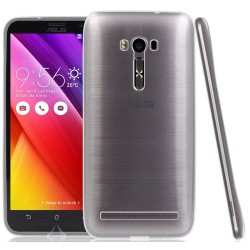 "Funda Gel Tpu Fina Ultra-Thin 0,3mm Transparente para Asus Zenfone 2  Laser 5.5"" Ze550Kl"