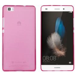 Funda Gel Tpu Huawei P8 Lite Color Rosa