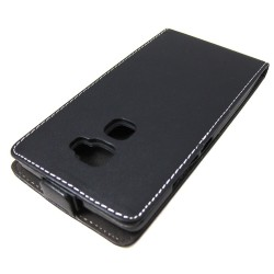 Funda Piel Premium Ultra-Slim Huawei Mate S Negra