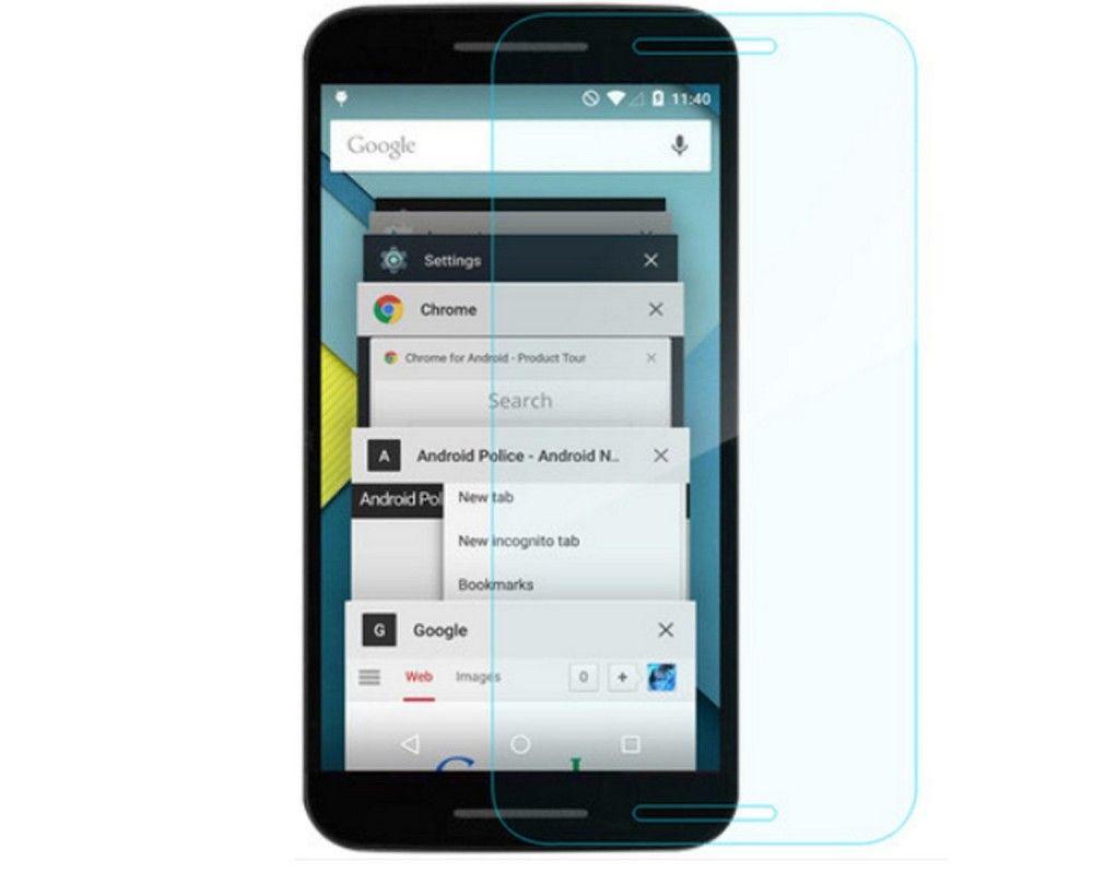 3x Protector Pantalla Ultra-Transparente para Google Lg Nexus 5X