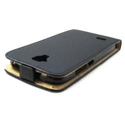 Funda Piel Premium Ultra-Slim Huawei Y5 Negra