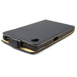 Funda Piel Premium Ultra-Slim Sony Xperia Z5 Negra