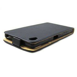 Funda Piel Premium Ultra-Slim Sony Xperia Z5 Premium Negra