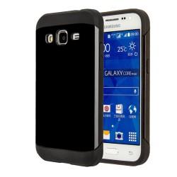 Funda Tipo Neo Hybrid (Pc+Tpu) Negra para Samsung Galaxy Core Prime G360F
