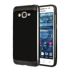 Funda Tipo Neo Hybrid (Pc+Tpu) Negra  para Samsung Galaxy Grand Prime G530