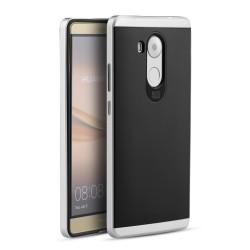Funda Tipo Neo Hybrid (Pc+Tpu) Negra / Plata para Huawei Mate 8
