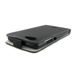 "Funda Piel Premium Ultra-Slim Wiko Pulp Fab 5.5"" Negra"