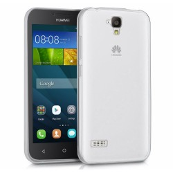 Funda Gel Tpu Fina Ultra-Thin 0,3mm Transparente para Huawei Y5